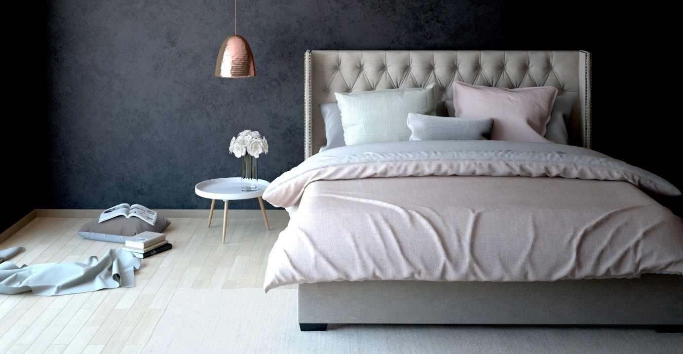 Bedroom Ideas Upholstered Bed